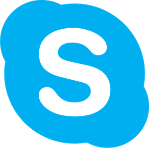 skype chat button